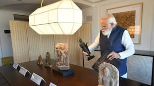 PM Modi brings home 157 artefacts from US; over 200 returned since 2014