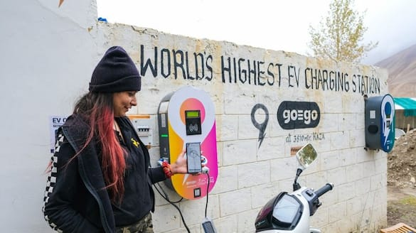 World highest ev charging station inaguratred in Himachal Pradesh