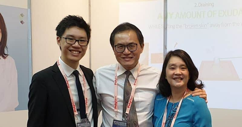 Malaysian doctor startup company wondaleaf launches worlds first adhesive unisex condom with improved protection to women