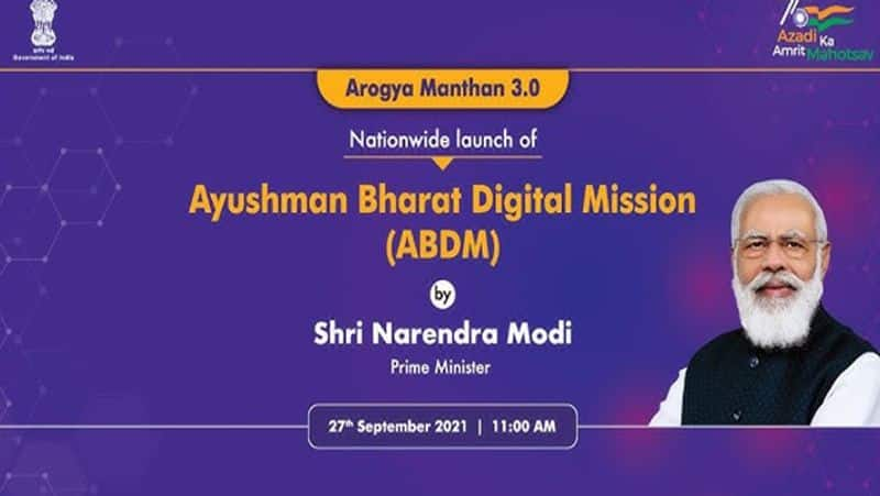 Ayushman Bharat Digital Mission,  Like Aadhar every citizen will have a health card, know details