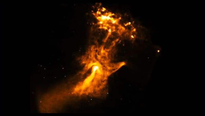 NASA released a picture which is being called the Hand of God on social media