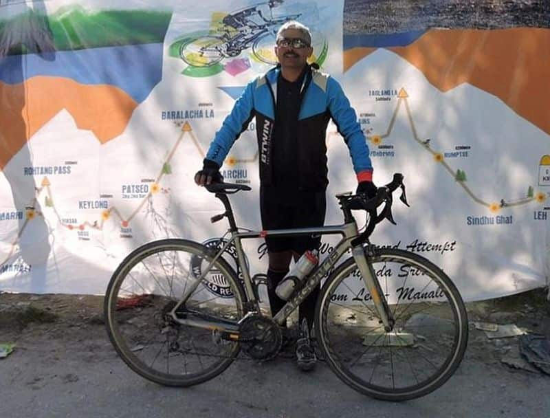The Army officer who broke Guinness record for fastest solo cycling VPN