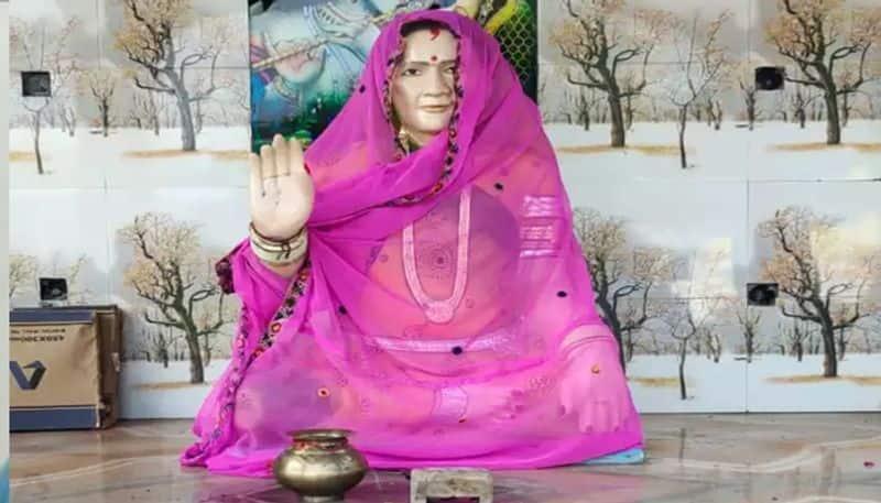 madhya pradesh interesting story and true love husband built wife mandir after died in sajapur