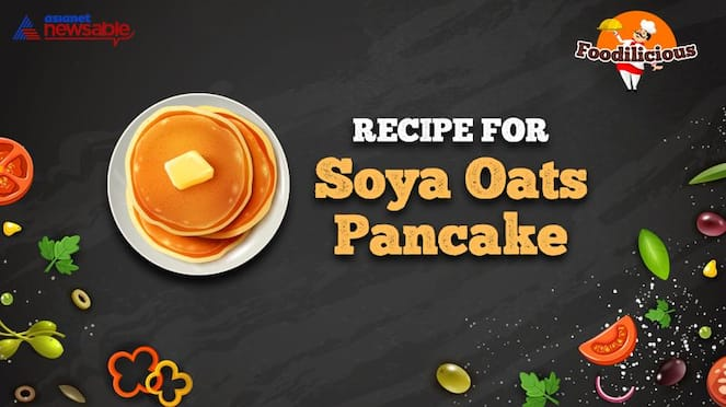 Food Recipes High protein soya oats pancake