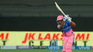 IPL 2021 SRH vs RR Rajasthan Royals set good target on Sanju Samson fire fifty