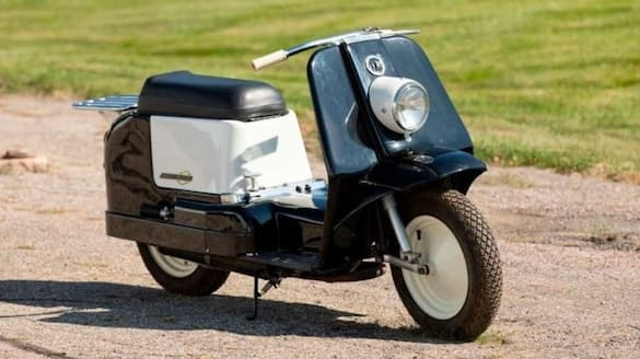 Only scooter model ever produced by Harley Davidson named Topper goes for auction