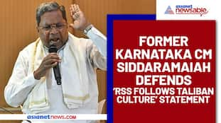 Karnataka ex-CM Siddaramaiah compares BJP and RSS with Taliban; courts controversy