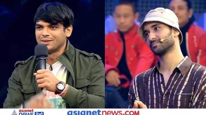Dance plus 6,  Neeraj Chopra, who won gold in Tokyo Olympics arrived as a guest on the show