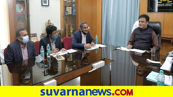 Ashwath narayan discussion with Infosys representatives Over NEP rbj
