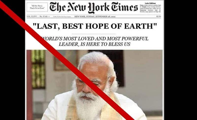 The new York times news