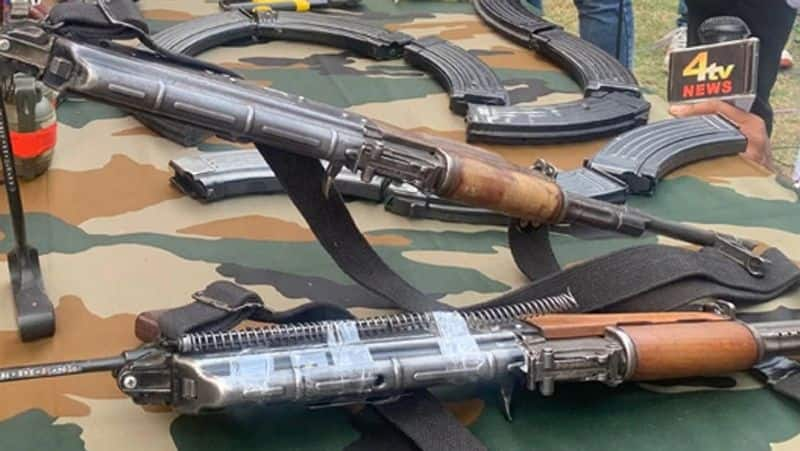 Pakistan continues to target Kashmir, arms consignment dropped by drone recovered in Jammu bpsb
