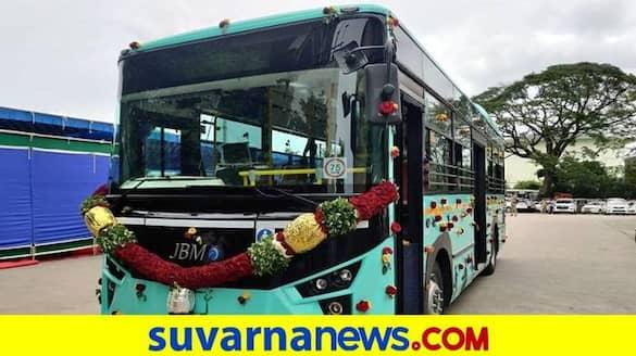 Electric Buses from Bengaluru 6 Cities in Karnataka grg