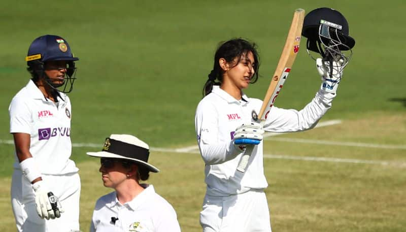 Pink Ball Test - Smriti Mandhana scores Century, become first Indian woman to do so in Australia ALB