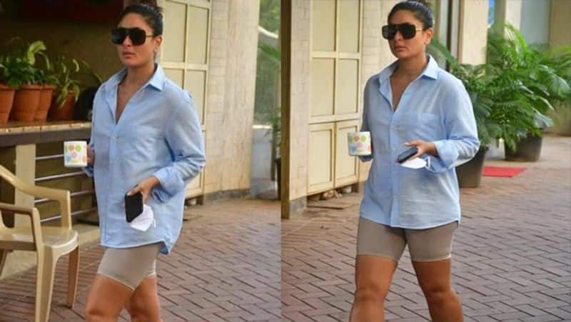 kareena kapoor spotted wearing short and shirt, these bollywood celebs also seen in different places