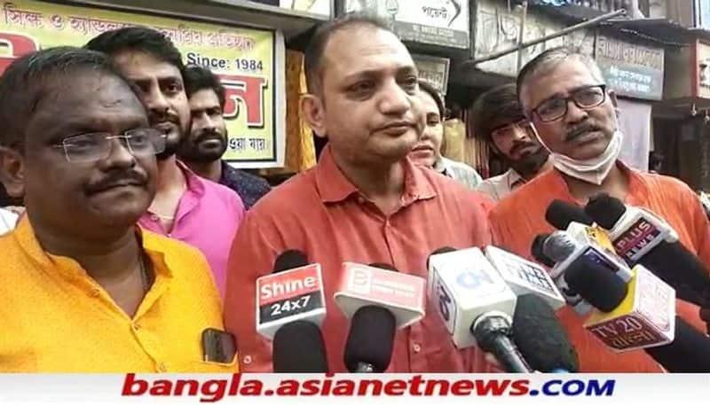 BJP Leader  Sukanta Majumdar and Raju Banerjee attacks Mamata Banerjee due to WB Flood situation on Gandhi Jayanti RTB