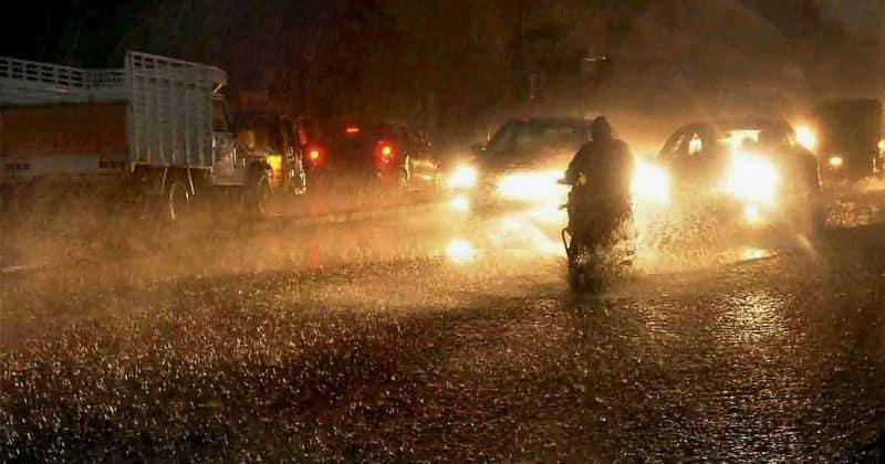 Rain alert 8 districts