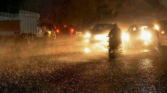 Chikkaballapura City Centre affected by Heavy rain snr