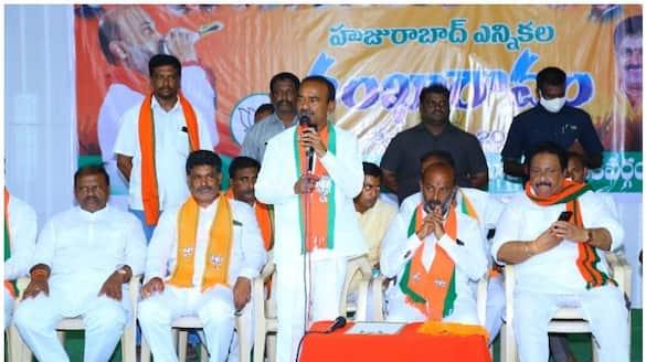 bjp leader eatala rajender sensational comments on cm kcr in huzurabad byElection campaign