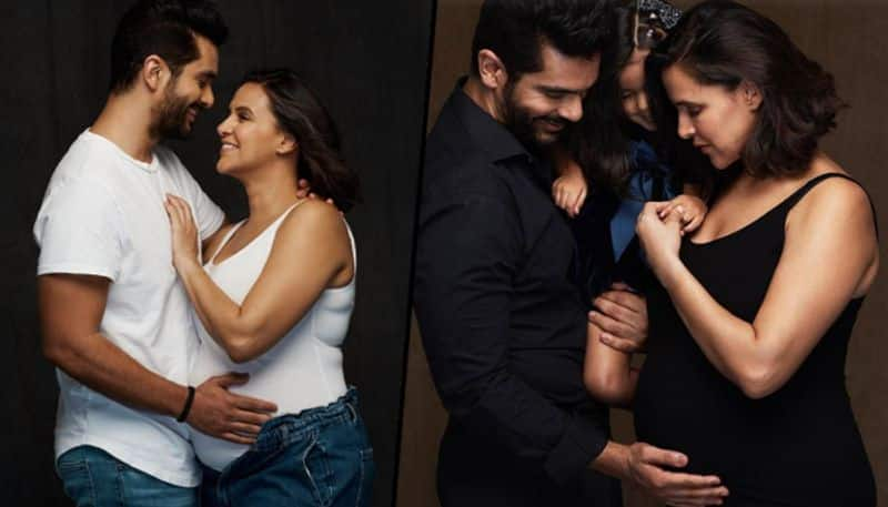 Bollywood Neha Dhupia Angad Bedi blessed with baby boy vcs