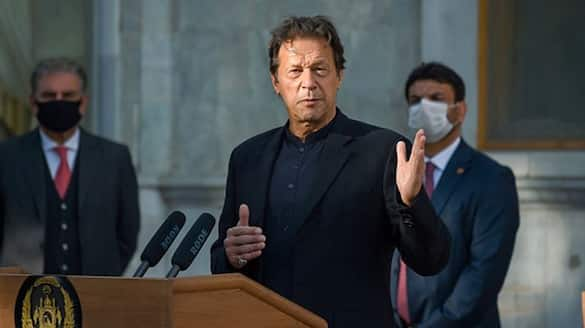 After t20 win pakistan pm imran khan says Not a good time for improving pakistan india ties takes dig at India