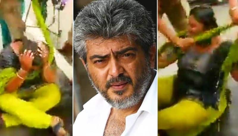 Nurse attempts suicide by setting herself ablaze in front of actor Thala Ajith house vcs