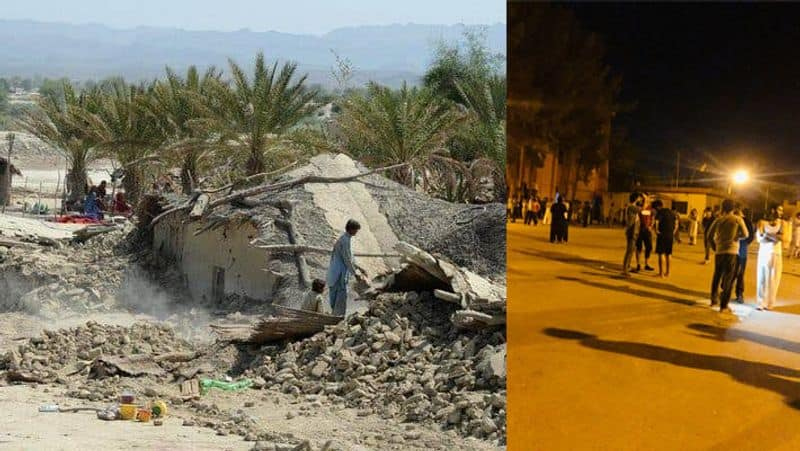 Shocking pictures after earthquake in Pakistan