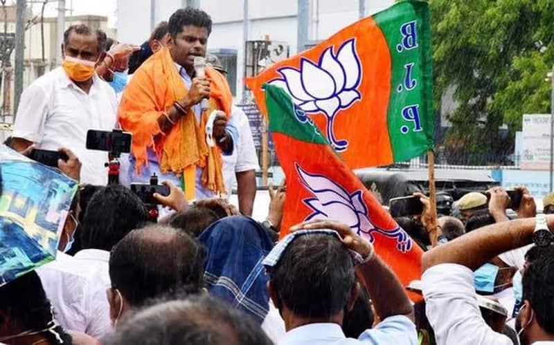 Minister Sekarbabu keeps lying alive ... Annamalai in turmoil in anger ..!