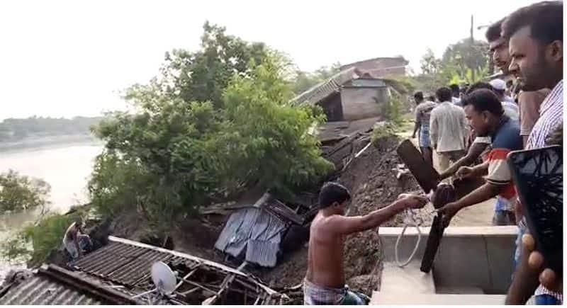 around 40 house went down into the river after dam collapsed in Basanti bmm