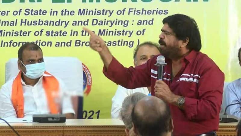 T. Rajender Praised L. Murugan.. speech as comparing with lord murugan