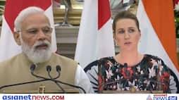 Denmark PM  Mette Frederiksen on India visit, she calls PM Modi an inspiration for the world