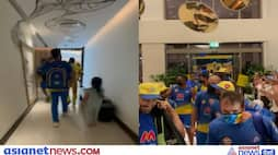 IPL 2021, CSK in finals, cute video of Ziva with father MS Dhoni