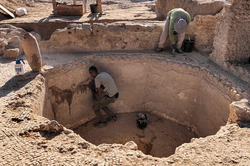 1500 year old Byzantine wine complex found in Israel