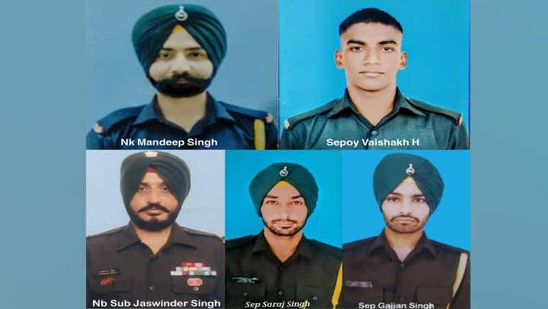Know about Jaswinder Singh Saraj Singh Vaisakh H in UP Punjab and Kerala martyred in Poonch encounter with terrorists