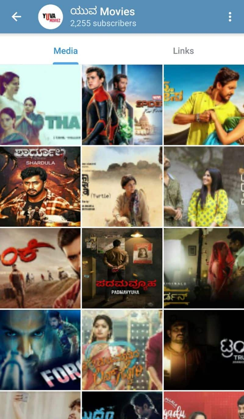 Piracy problem for Kannada movies producers complaints to cyber cell dpl