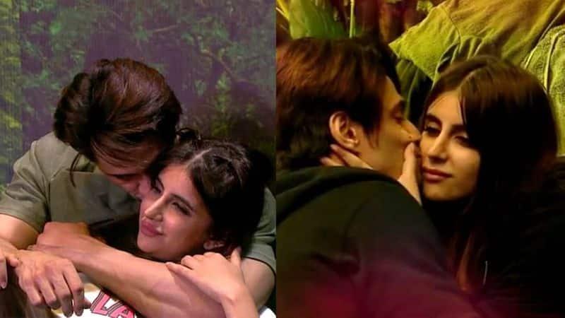 Salmaan khan hosting biggboss 15 show actress miesha iyer and ieshan sehgal romance video goes viral