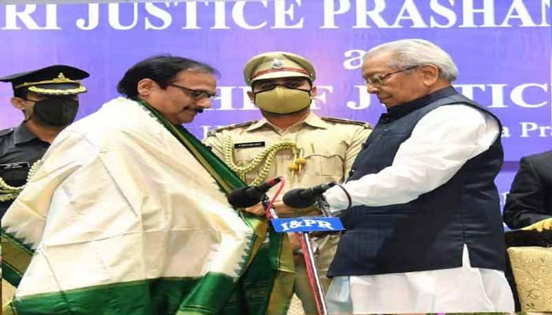 Justice Prashant Kumar Mishra sworn in as chief Justice of AP High Court