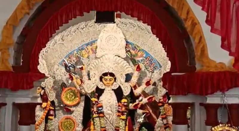 Sindoor khela organized in Howra Pal bari on the occasion of Durga Ashtami bmm