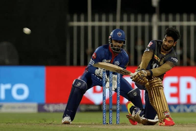 KKR beat DC in a thrilling match by 3 wickets and reach the final of IPL 2021 spb