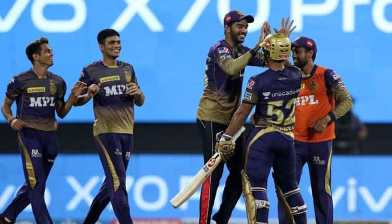 highlights of Kolkata Knight Riders vs Delhi Capitals match in qualifier 2 of IPL 2021 at UAE spb