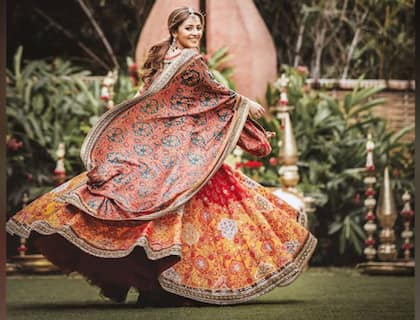 Fashion designer Isha Multani takes her prowess to a new level as she shoots for Bridal Asia