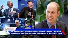 UK s Prince William takes a swipe at Jeff Bezos, says should focus on saving Earth rather than space tourism-dnm