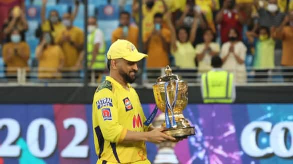 IPL 2021 Now MS Dhoni won 11 Major trophies as captain with CSK fourth IPL title