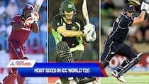 Most sixes hit by a batter in ICC World T20-ayh