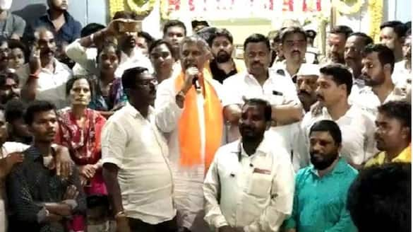 Claims on religious conversion attempt spark protest Hubballi mah