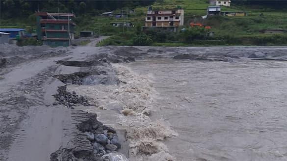 Rains lash Nepal, trigger floods and landslide bpsb