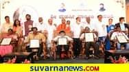 CM Basavaraj Bommai Honored to Valmiki Award for elite in Bengaluru grg
