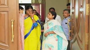 Praja Prasthanam: YV Subba Reddy meets YS Sharmila