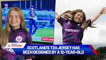 T20 World Cup 2021: Did you know a 12-year-old girl designed Scotland's jersey? Watch this-ayh