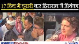 Priyanka Gandhi stopped by UP Police while going to Agra, see video