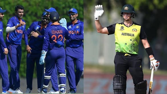 Australia gave 153 runs target to team India in warm up match of icc t20 world cup 2021 spb